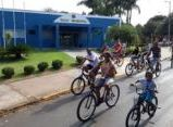 2º Giro Bike com mais de 70 participantes movimenta o domingo em Espirito Santo do Turvo.
